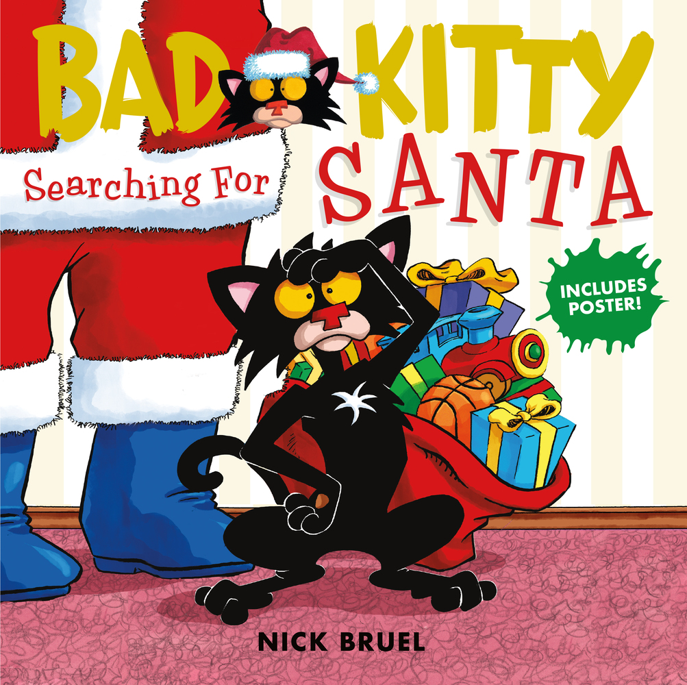 Bad Kitty Searching for Santa